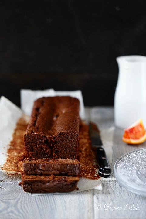 gâteau chocolat marmelade orange