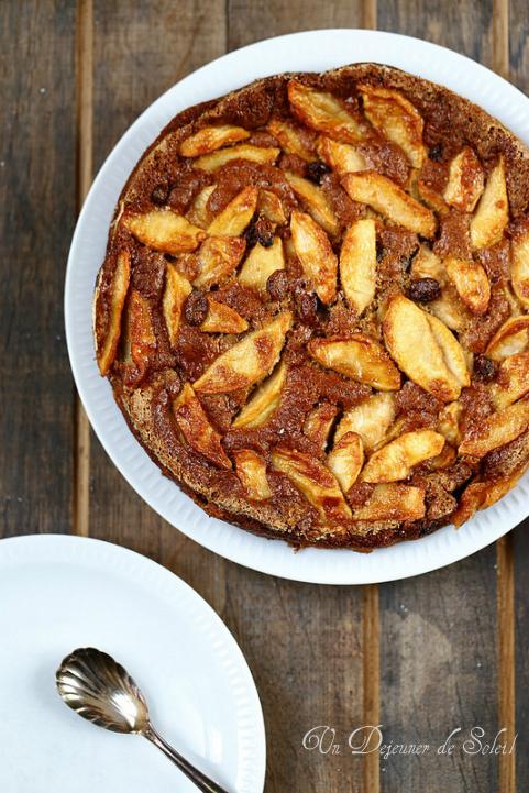 Gâteau italien aux pommes (sans beurre)