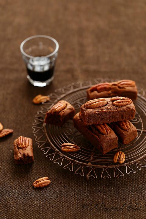 Brownies aux noix de pécan (avec ou sans gluten)