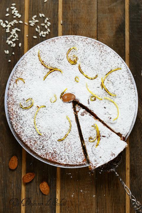 Torta di riso : gâteau de riz italien