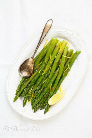 salade asperges citron