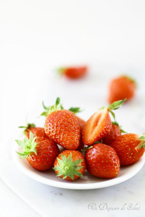Recettes avec les fraises (crèmes, tartes, fraisiers, glaces....)