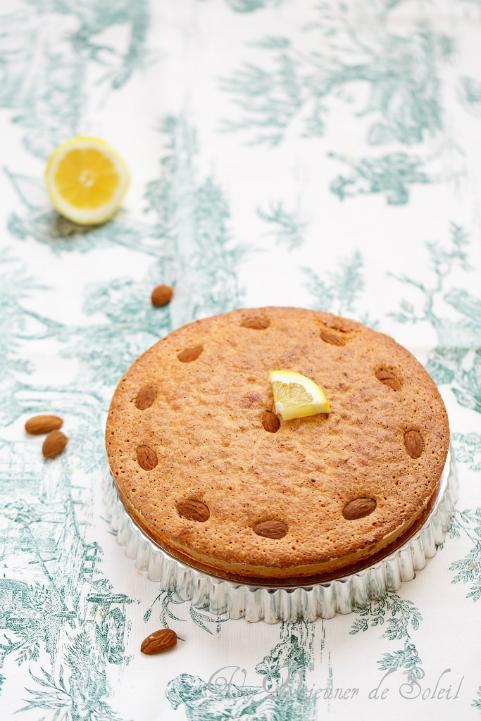 Gâteau italien aux amandes et au citron (sans beurre et sans gluten)
