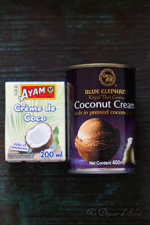 Tout savoir sur le lait de coco et la crème de coco : utilisation, recettes, marques, conservation...
