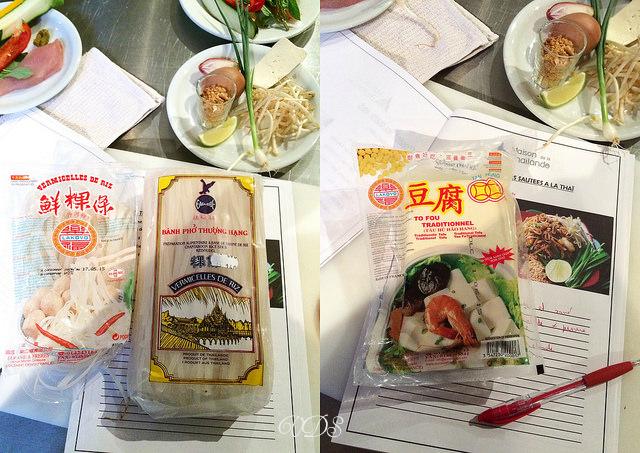 Réussir le Pad Thai (recette et astuces) ingrédients : tofu, nouilles riz