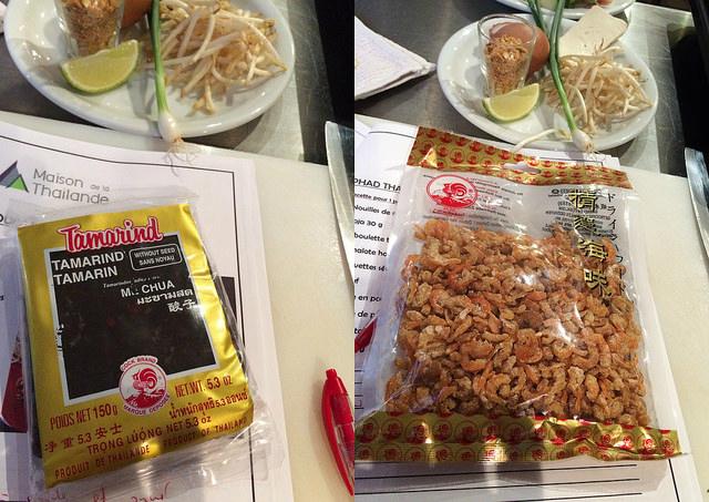 Réussir le Pad Thai (recette et astuces) : tamarin, crevettes séchées