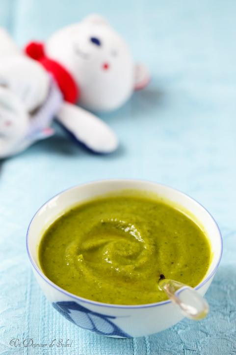Purée d'asperges, courgettes et cabillaud (recette et conseils pour bébés)