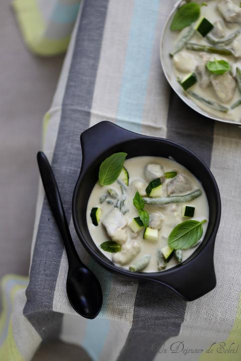 Curry vert de porc et légumes et trois astuces pour réussir un curry Thaï