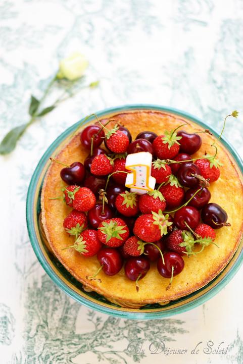 Gâteau italien à la ricotta et aux amandes (budino di ricotta)