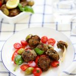 boulettes viande aubergines olives