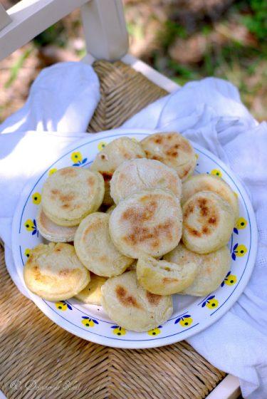 batbout pain marocain cuit poele