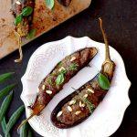 aubergines farcies viande italienne