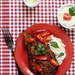 aubergines farcies viande turque karniyarik
