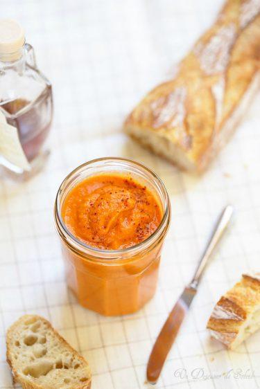 caviar poivrons recette facile