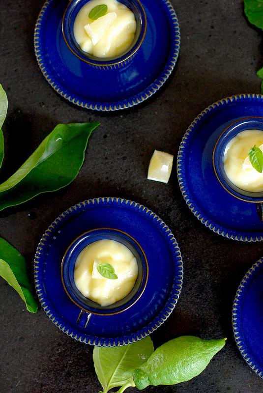 Crème pâtissière au citron et limoncello comme en Italie