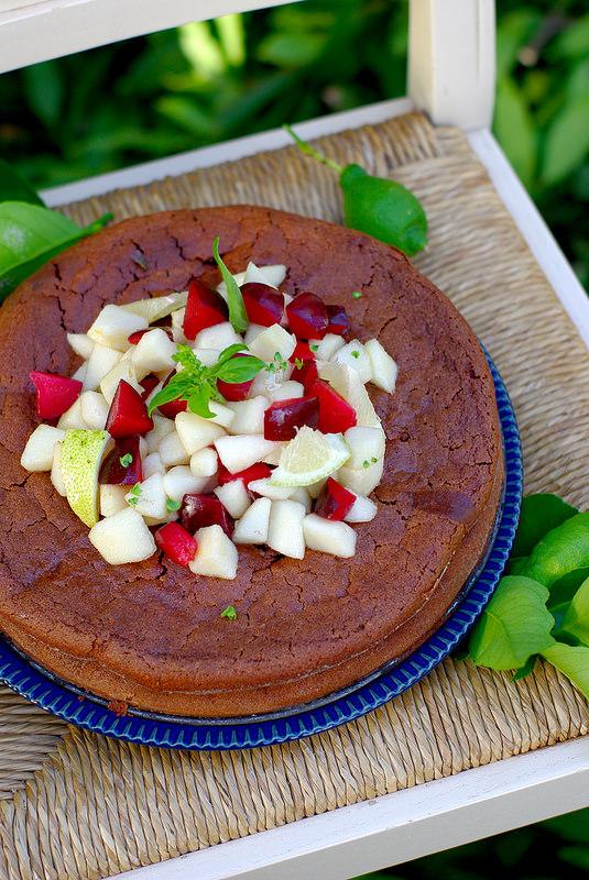 Gâteau au chocolat et à la ricotta (sans gluten)