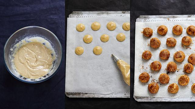 Réussir la pâte à choux : recette de base, astuces et photos pas à pas