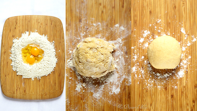 Tagliatelle maison : recette, astuces et procédé en photos