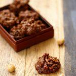 biscuits croustillants noisettes chocolat