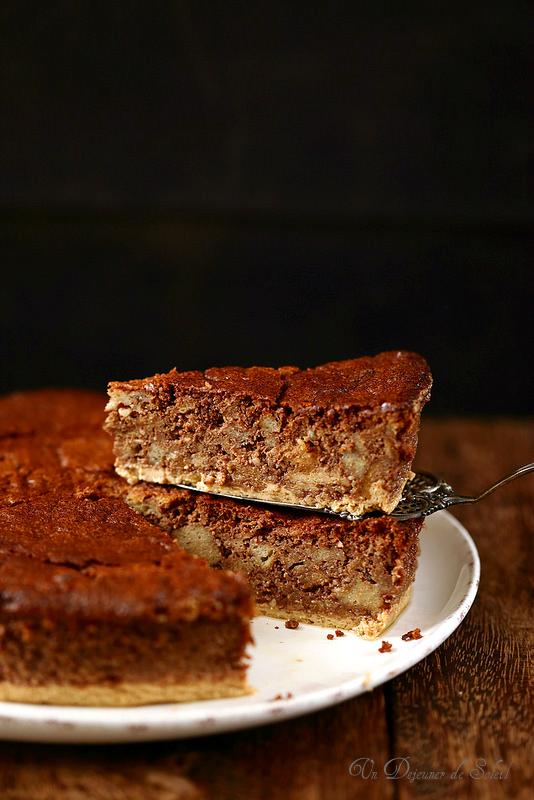 Gâteau italien de pain et de chocolat