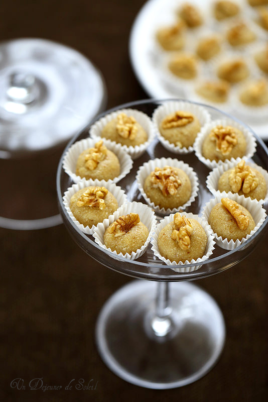 Pâte d'amande aux noix recette