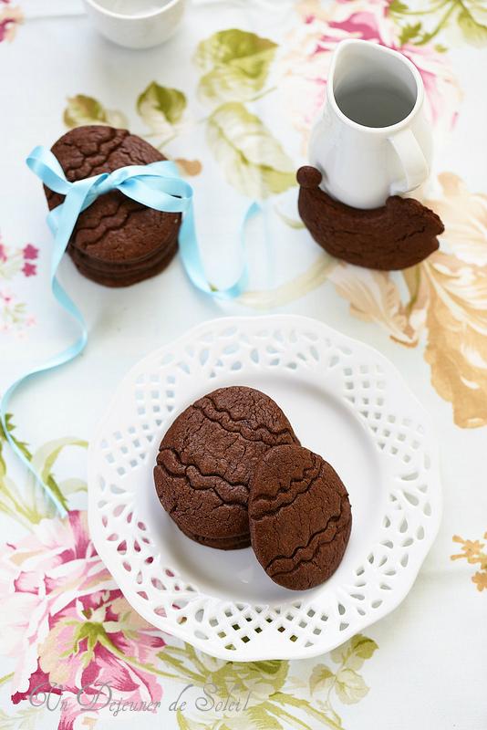 Biscuits au chocolat recette