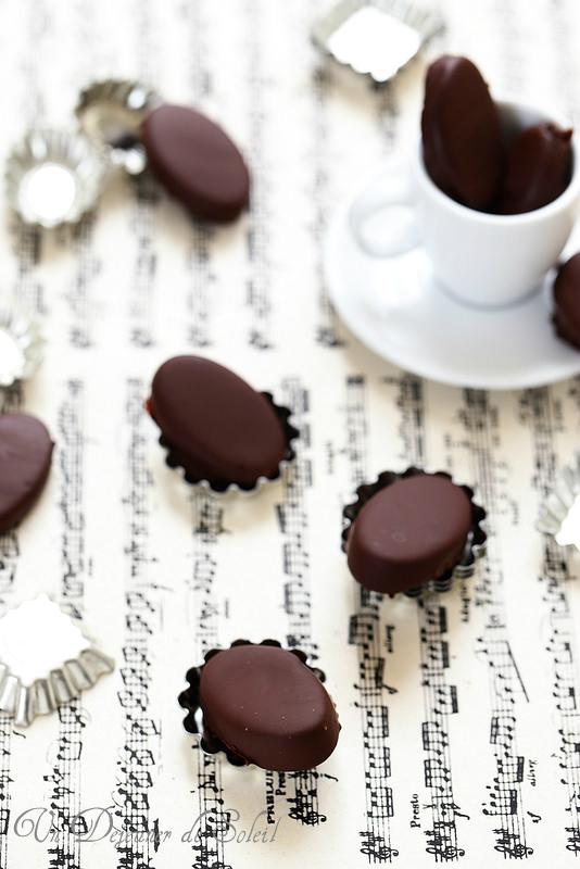 Chocolats maison au café