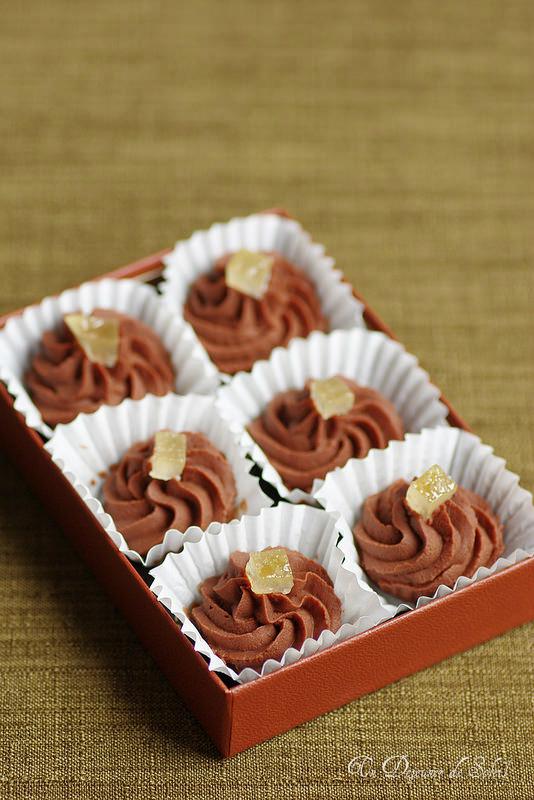 Chocolats maison et truffes : quatorze recettes et des conseils. Truffes chocolat limoncello