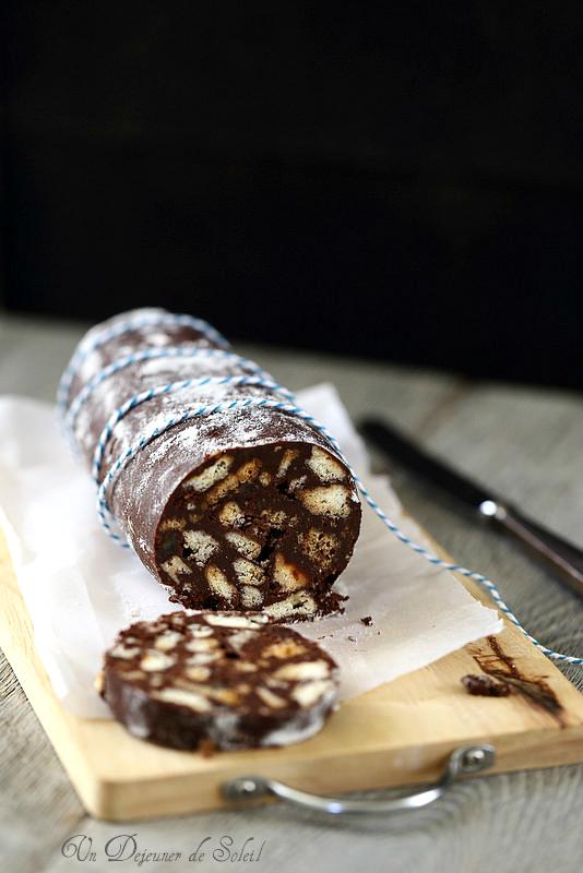 Saucisson au chocolat (salame di cioccolato)