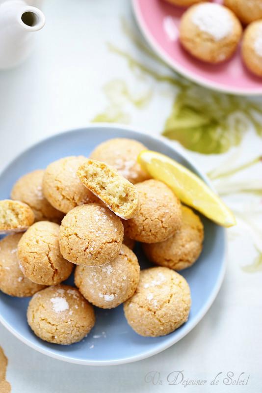 Amaretti moelleux au citron