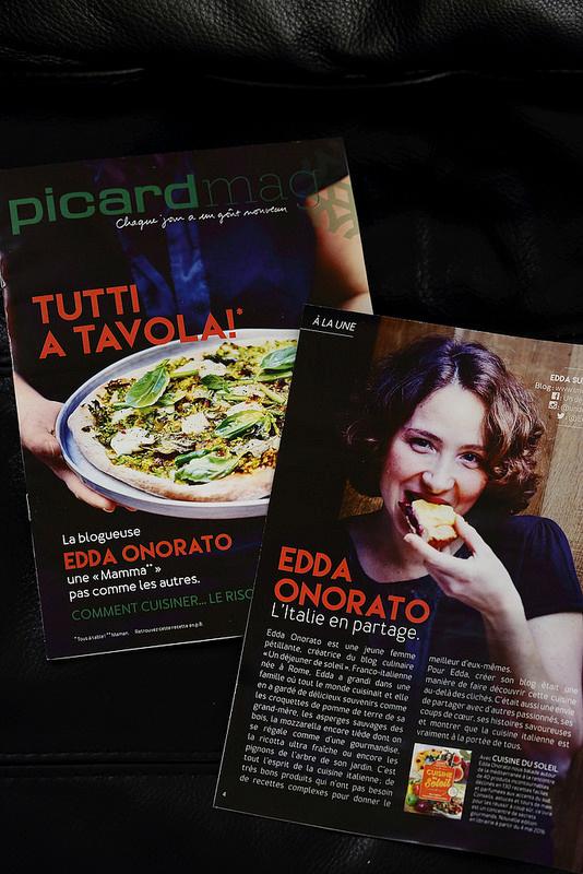 Retrouvez Edda Onorato sur Picard Mag du mois d'avril