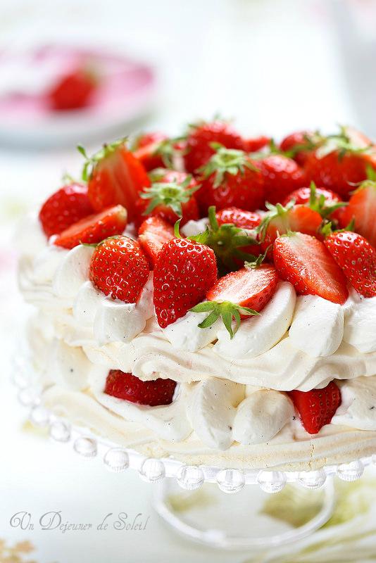 Pavlova aux fraises (recette et astuces)