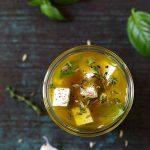 feta marinee huile olive