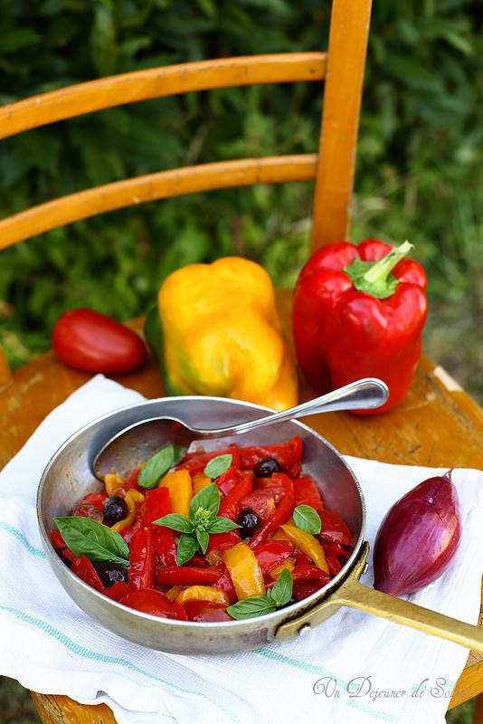 Peperonata, la poivronade italienne