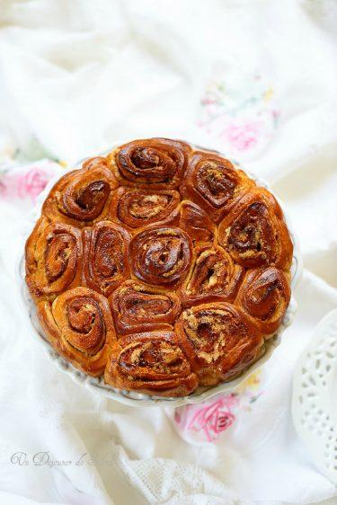 brioche roulee italienne torta rose