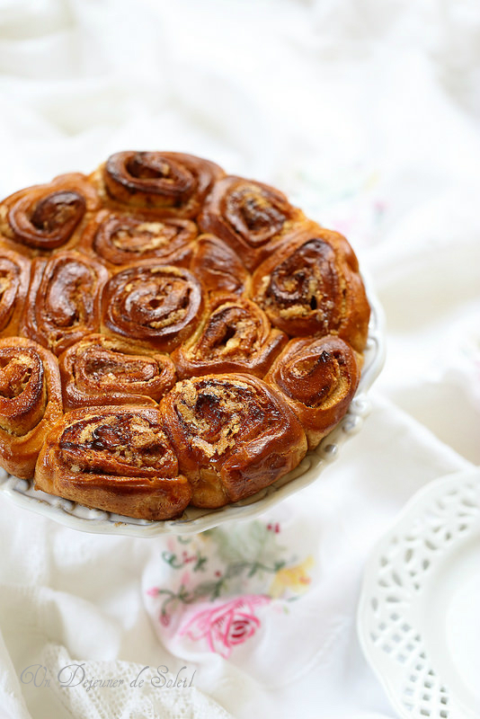 Brioche roulée ou chinois italien (torta delle rose)