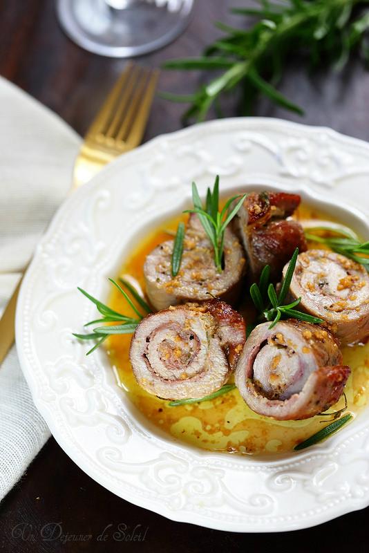 Rosa di Parma : roulé de viande au parmesan et au jambon