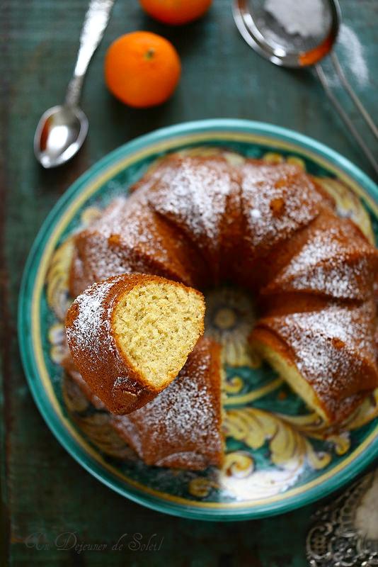 Ciambellone cake italien à l'orange et à l'huile d'olive
