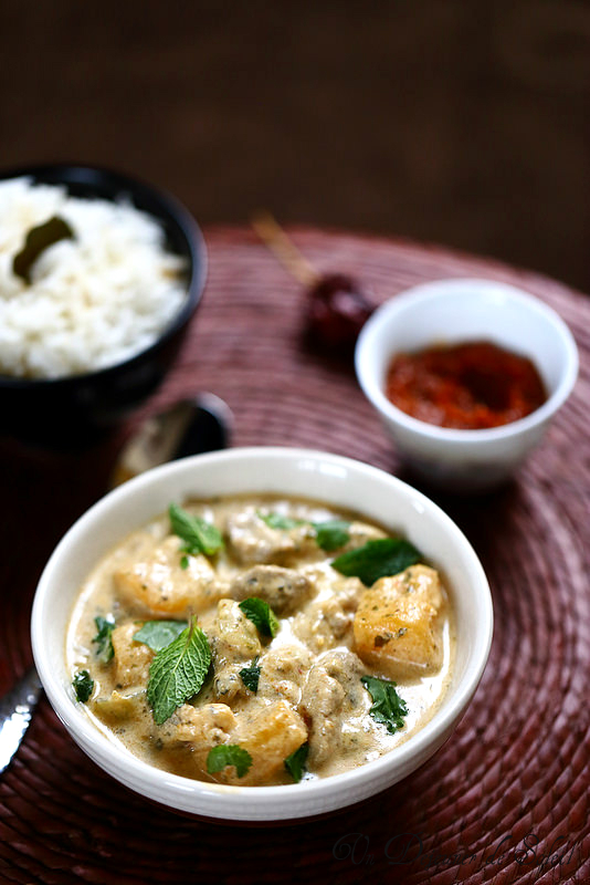 Curry thaï de porc