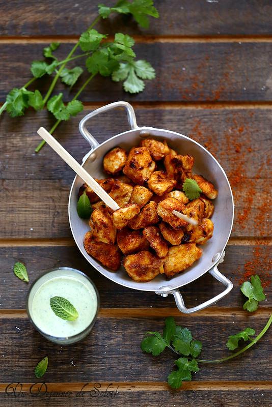 Poulet tandoori (recette)