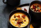soupe courge butternut pancetta