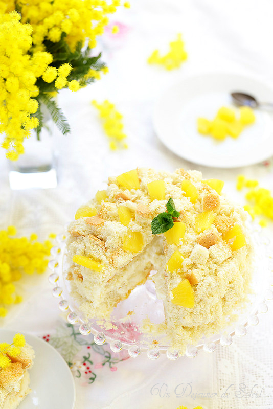 Torta Mimosa, la véritable recette