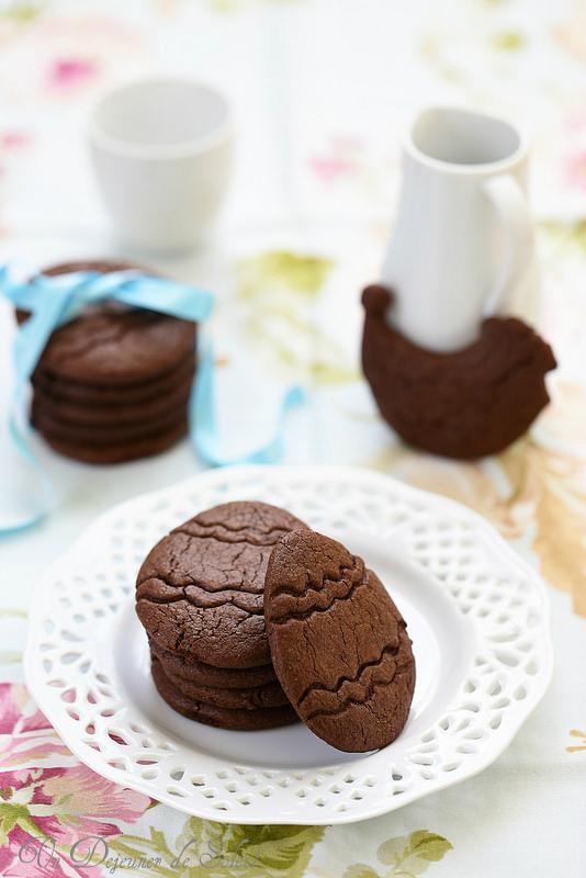 Trente recettes faciles pour Pâques. Biscuits au chocolat