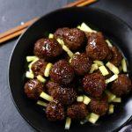 boulettes de viande asiatique