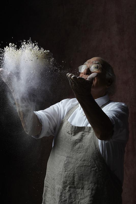 Les gagnants de l'atelier cuisine avec Edda Onorato autour des pâtes Giovanni Rana
