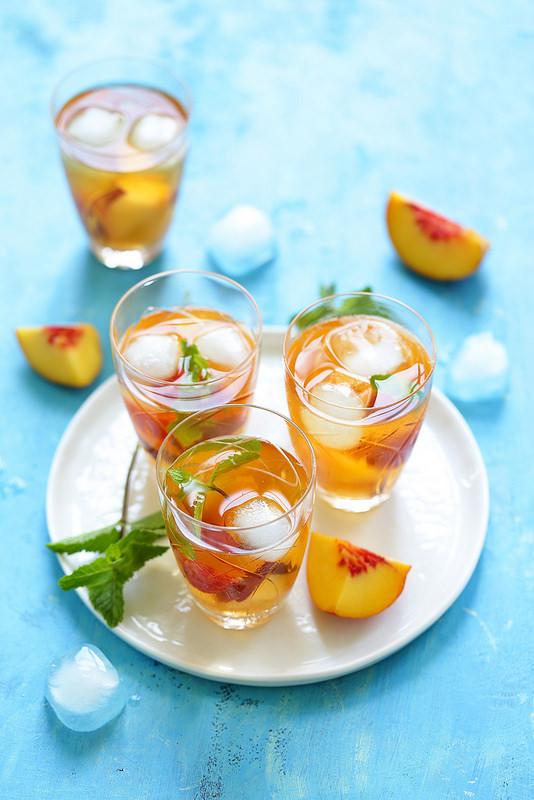 Thé glacé : recette et trois astuces