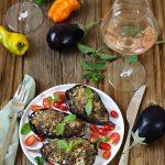 aubergines farcies viande accord mets vin