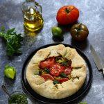 tarte rustique tomates pesto