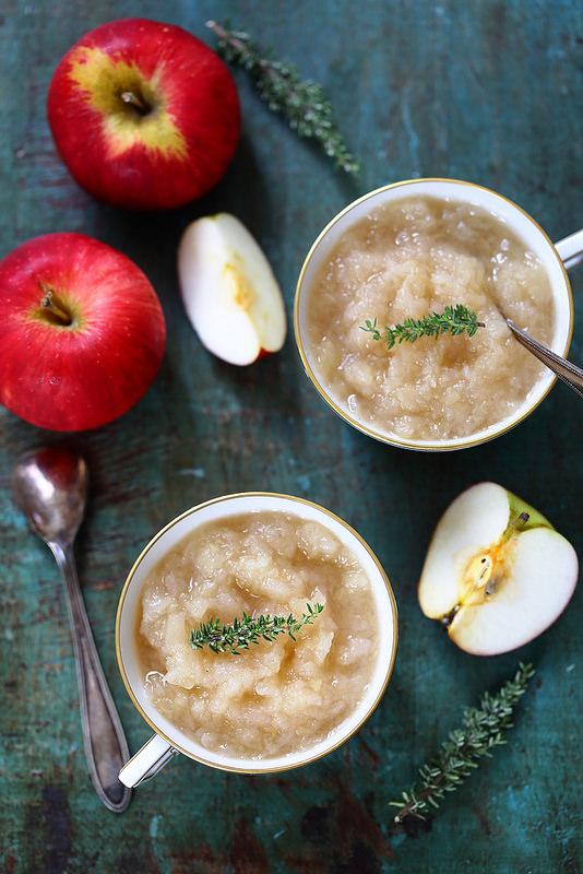 Compote de pommes au micro-ondes