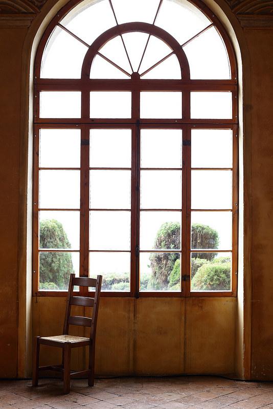 Ravioli de potiron, sauce au gorgonzola et cèpes sautés. Villa lac Garde